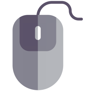 Grey Computer mouse