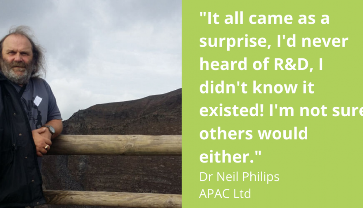 Dr Neil Philips, APAC Ltd