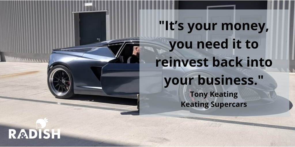 Keating Supercar - Berus