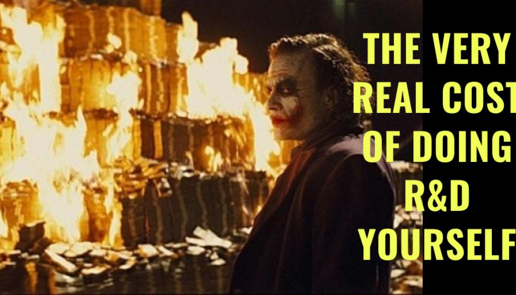 Burning money & Joker