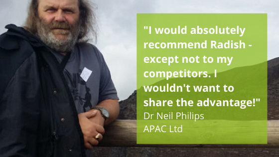 Neil Philips - APAC Ltd - testimonial