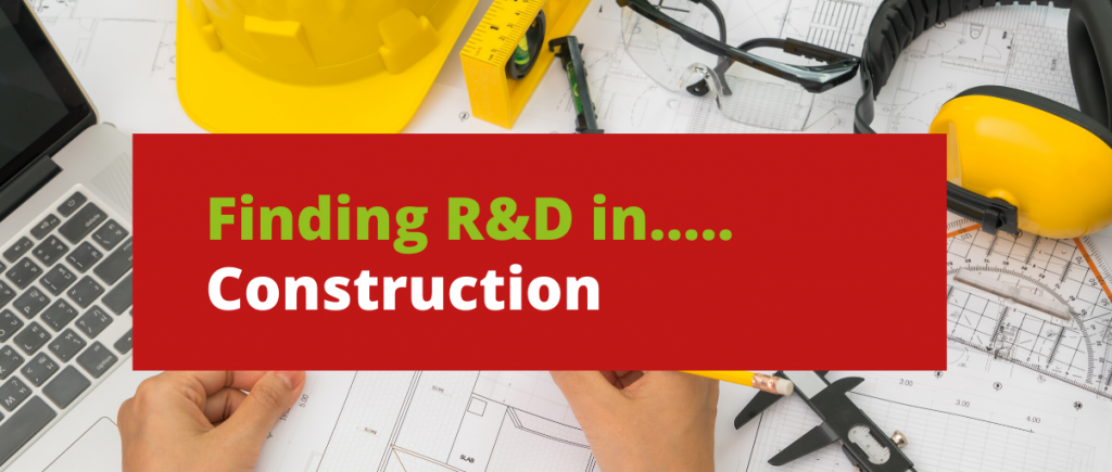 R&D in Construction